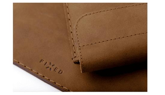 "FIXED Kožené pouzdro Oxford pro Apple iPad Pro 12,9"" (2018/2020), černé FIXOX-IPA13-BRW"