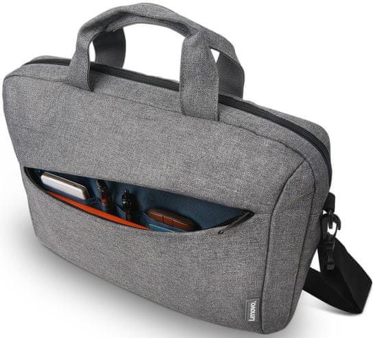 Lenovo torba za prenosni računalnik 15,6 Laptop Casual Toploader T210 GX40Q17231, siva