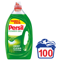 Persil Complete Clean Power Gel pralni gel 360°, 5 l, 100 pranj - Odprta embalaža