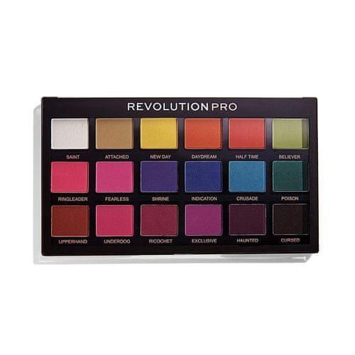 Revolution PRO 18 szemhéjfesték paletta Regeneration Trends Mischief Mattes (Eyeshadows) 14,4 g