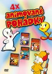 Animované pohádky (4x DVD) - DVD