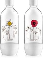 SodaStream Fľaša JET 2 x 1 l Kvety v zime