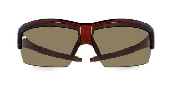 gloryfy Sportovní brýle G4 PRO Brown Shiny