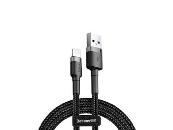 BASEUS podatkovni kabel Cafule CALKLF-BG1, 1m, črno siv