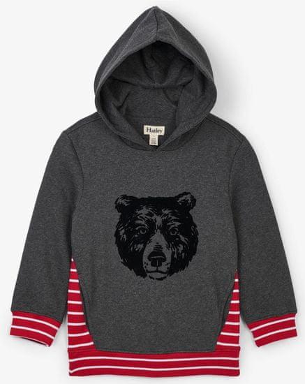 Hatley bluza chłopięca z niedźwiedziem grizzly