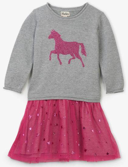 Hatley haljina za djevojčice s konjem
