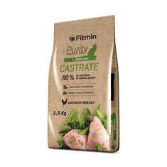 Fitmin cat Purity Castrate 1,5 kg