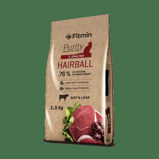 Fitmin karma dla kota Purity Hairball 1,5 kg