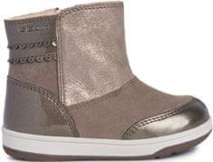 Geox New Flick dekliški zimski škornji, rjavi, 23