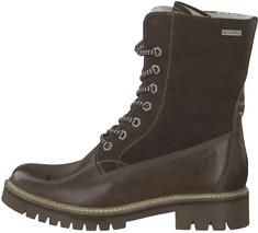 Tamaris dámská kotníčková obuv 26257 40 tmavě hnědá