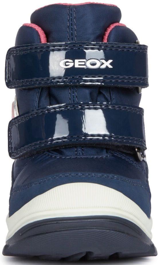 Geox dívčí svítící zimní boty Flanfil 20 modrá