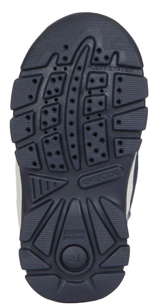 Geox dívčí svítící zimní boty Flanfil 21 modrá