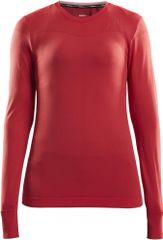 Craft Triko Fuseknit Comfort LS ženska športna majica, M, rdeča