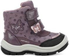 Geox Flanfil dekliški svetleči zimski čevlji, vijolični, 20