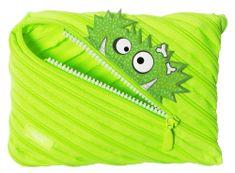 Zipit Grillz Monster peresnica z motivom pošasti Bright Lime, svetlo zelena