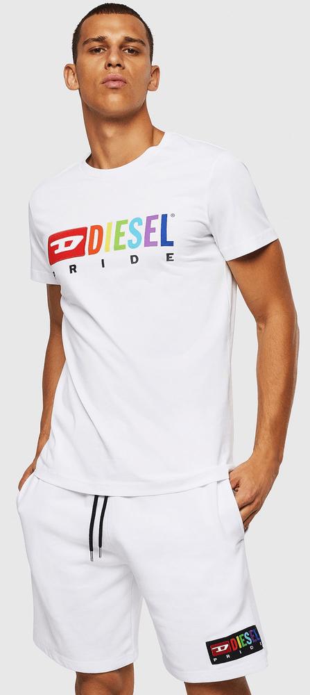 Diesel pánské tričko Diego XL bílá