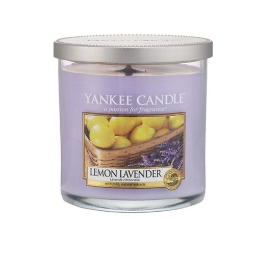 Yankee Candle Aromatická svíčka Décor malý Lemon Lavender 198 g