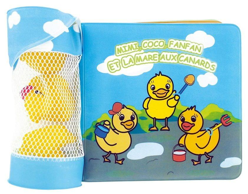 DBB Remond Vodní hračky z kaučuku s koupací knihou, 3ks