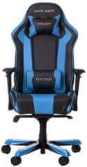 DXRacer King KS06/NB, fekete/kék KS06/NB