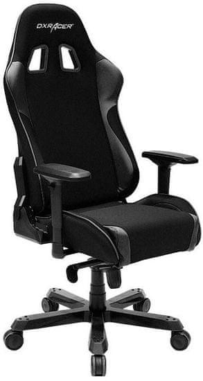 DXRacer fotel obrotowy King KS11/N, tkanina, czarny (KS11/N)