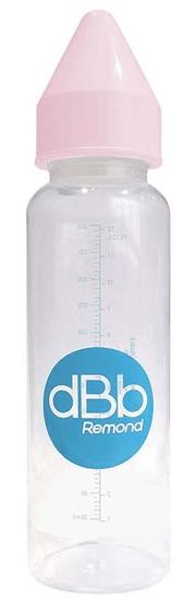 DBB Remond dječja bočica, s gumenom dudom, PP, 360 ml, 4+ m