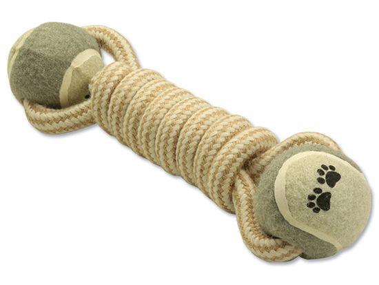 Dog Fantasy teniske loptice Puller Juta 2, 28 cm