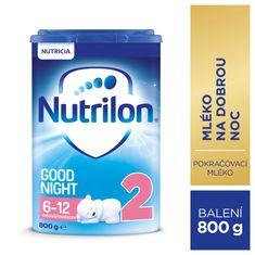 Nutrilon 2 Good Night pokračovací kojenecké mléko 800g, 6+