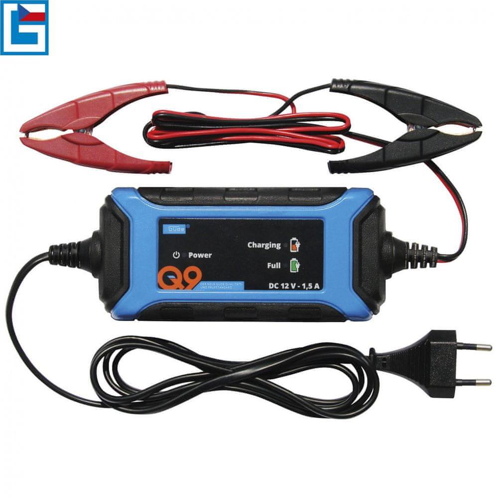 Güde Automatická nabíječka baterií GAB 1,5 A