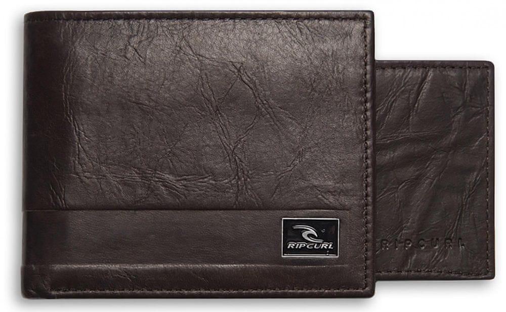 Rip Curl pánská hnědá peněženka Section RFID 2 in 1 - zánovní