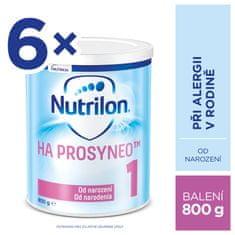 Nutrilon 1 HA PROSYNEO špeciálne dojčenské mlieko 6x800 g