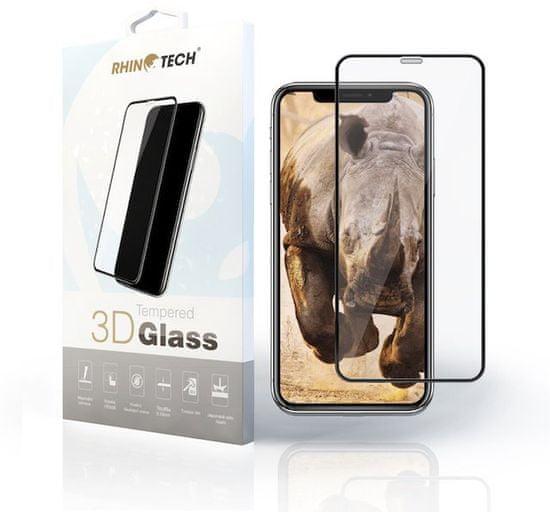 RhinoTech 2 zaščitno kaljeno steklo 2.5D za Samsung J4 Plus (Full Glue) Black RT157