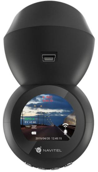 Navitel R1050 video snemalnik/avto kamera, SONY senzor, 1920x1080, Night Vision, WiFi, GPS + navigacijske karte Evrope