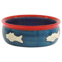 Magic cat Miska keramická s rybkou 12,5 cm