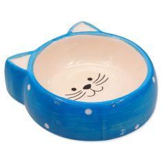 Magic cat keramična posoda za hrano za mačke z ročaji, 13 cm