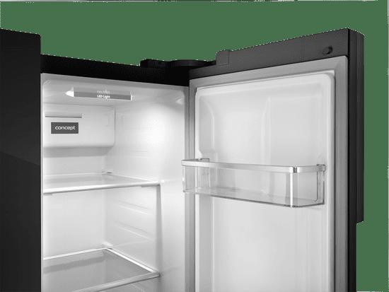 Concept americká lednička LA7383bc