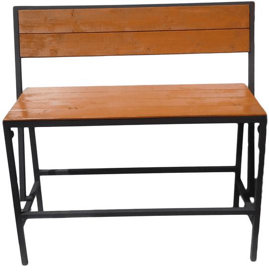 Naveneko Barová lavice (s překlápěcím opěradlem)