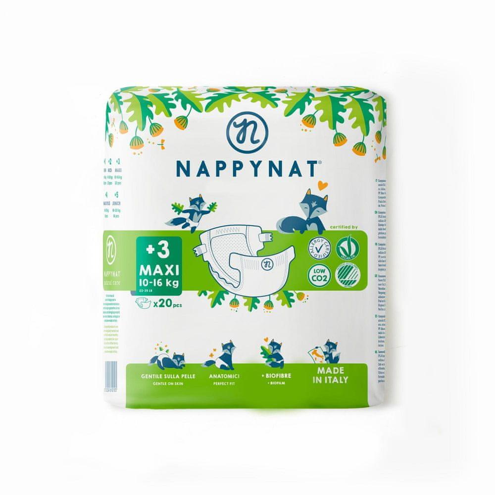 Nappynat 3+ Maxi (10-16 kg) 20 ks