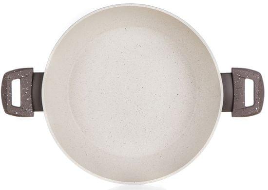 Banquet Serpenyő Paella tapadásmentes felülettel MARRONE szürke 28 x 7,5 cm, fedéllel