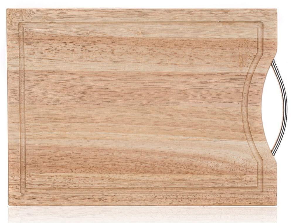 Banquet Prkénko krájecí dřevěné BRILLANTE 30 × 20 cm