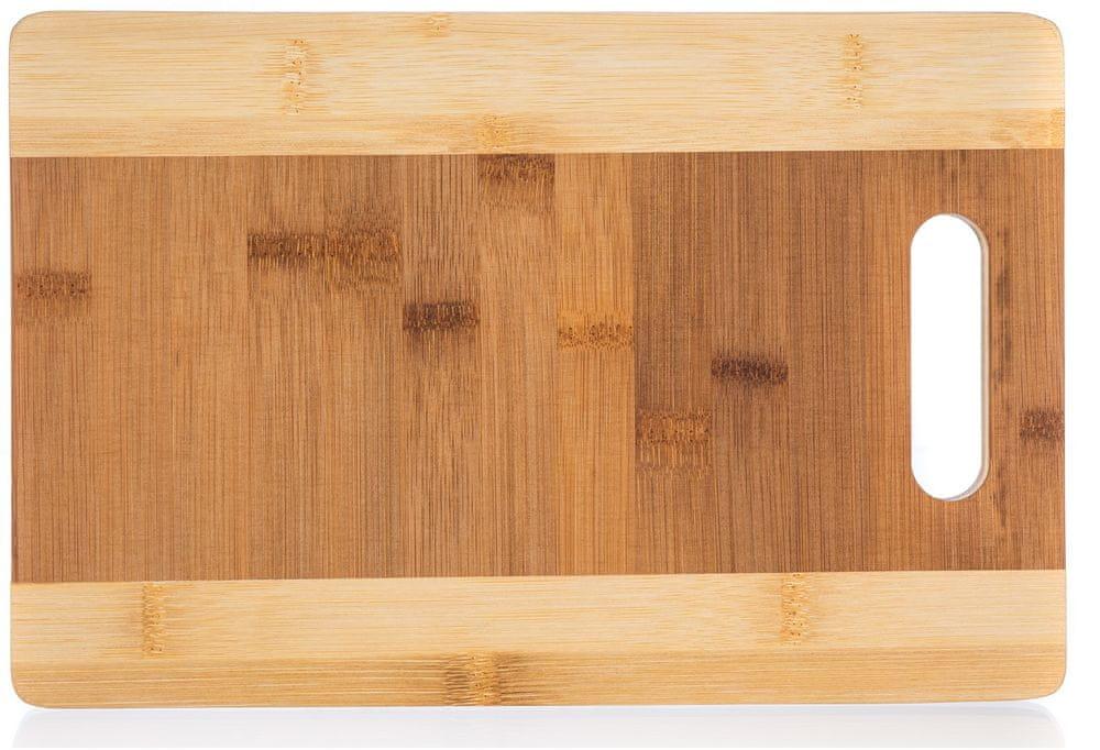 Banquet Prkénko krájecí dřevěné BRILLANTE Bamboo 33 × 25 × 1,5 cm