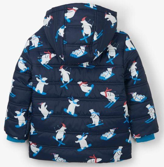 Hatley fantovska bunda z severnimi medvedi na smučeh