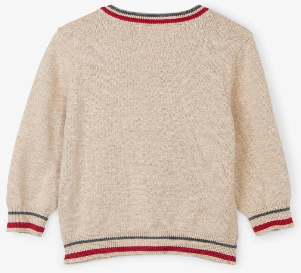 Hatley chlapecký svetr se sobem 62 - 68 béžová