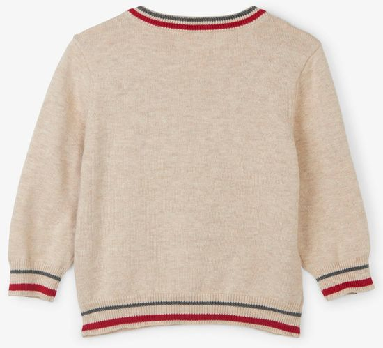 Hatley chlapecký svetr se sobem