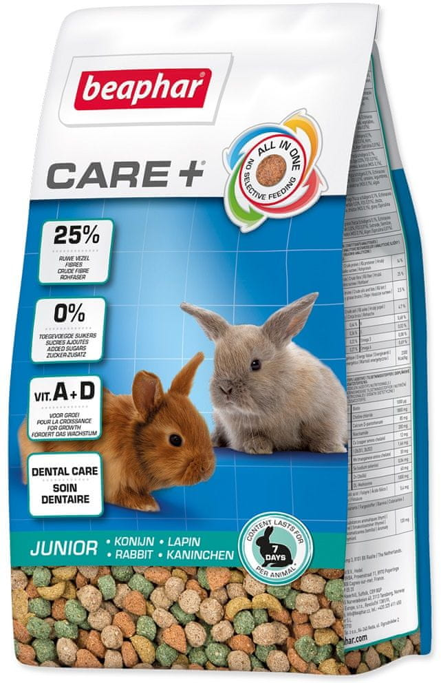 Beaphar CARE+ Junior králík 250 g