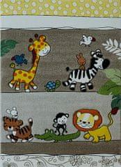 Berfin Dywany Detský kusový koberec Smart Kids 22310 Beige 160x230