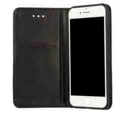 Onasi torbica za Huawei Mate 20, preklopna, črna