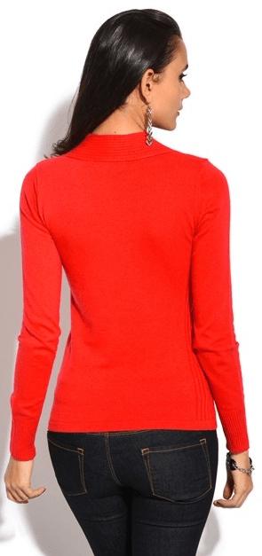 William de Faye dámský svetr ASF196 M červená