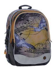 Bagmaster Školní batoh EV07 0115 B BROWN NETOPÝR