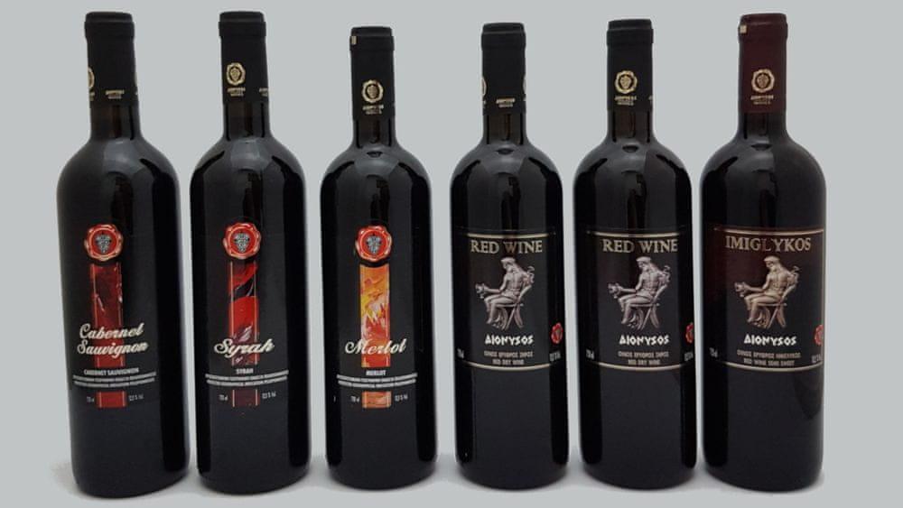 Someliérský balíček řeckých červených vín 6x750ml