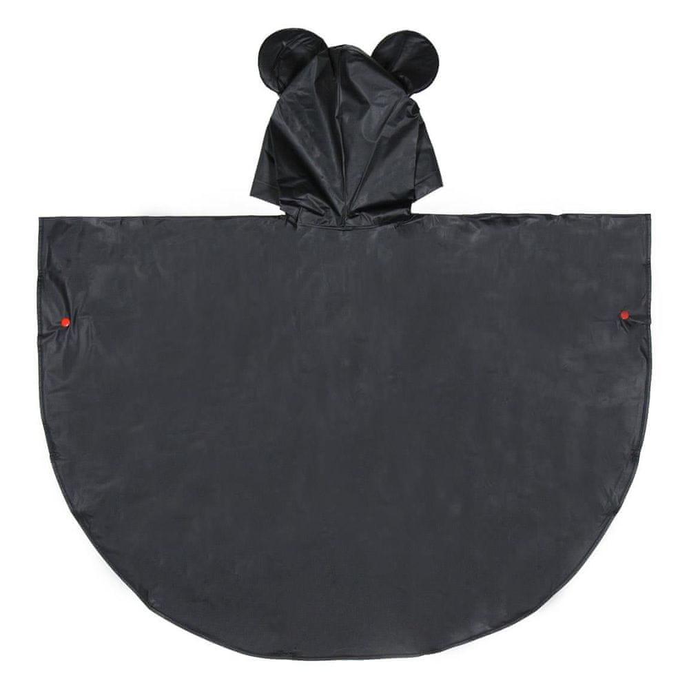 Disney chlapecká pláštěnka Mickey Mouse 116 černá